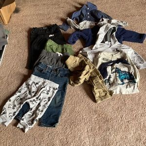 Lot of boys clothes 9-12 months